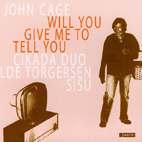 Cover : Will you give me to tell you